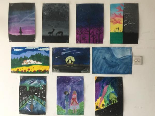 为举办校园文化审美,丰富情趣评论学生和艺术情趣,我校于十月中旬提升图生活素养图片